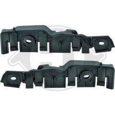 Kit glissières de pare-chocs avant / Droit et gauche pour AUDI A3 DE 05/2008 A 05/2012