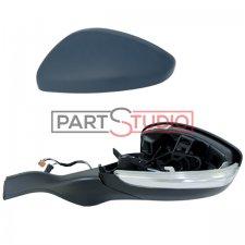 Rétroviseur gauche / Réglage électrique / Chauffant / Rabattable électriquement / embase noire / À peindre pour PEUGEOT