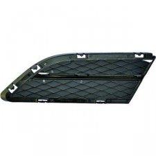 Grille droite noire mat de pare-chocs avant pour bmw serie 3 (e90/e91) a partir de 10/2008