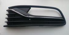 Grille inférieure droite de pare-chocs avant / avec emplacement antibrouillard / avec moulure chromée pour volkswagen po