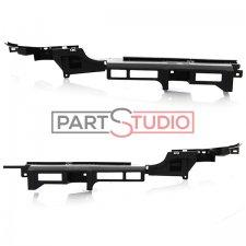 Jeu de renforts de pare-chocs arrière / Droit et gauche / Matière plastique / Modèle 3 et 5 portes pour PEUGEOT 307 (1)