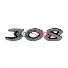Monogramme arrière (308) / Modèle 5 portes pour PEUGEOT 308 DE 06/2013 A 04/2017