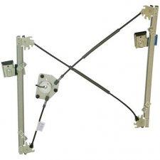 Mécanisme de lève-vitre avant droit électrique / 2 portes / sans moteur pour volkswagen golf (4) de 10/1997 a 05/2004