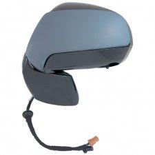Rétroviseur droit / Réglage électrique / Chauffant / Rabattable électriquement / À peindre pour CITROEN C3 PICASSO DE 02