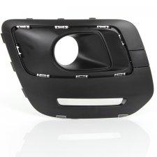 Grille droite de pare-chocs avant / noire pour CITROEN C3 PICASSO A PARTIR DE 12/2012