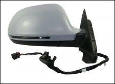 Rétroviseur droit / Réglage électrique / Chauffant / Rabattable manuellement / À peindre / Modèle 3 portes / Modèle avan