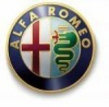 Grille de calandre (barrettes) pour alfa romeo type (155) de 11/1991 a 08/1997