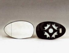 Miroir de rétroviseur gauche / chauffant / angle mort pour alfa romeo type (147) a partir de 10/2004