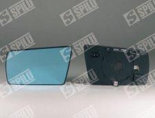 Glace gauche plate bleue chauffante