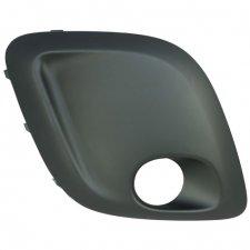 Grille droite de pare chocs avant modele avec emplacement pour antibrouillard