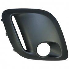 Grille droite de pare chocs avant modele avec emplacement pour antibrouillard et feu diurne