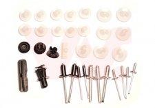 Kit agrafes de porte avant et arrière pour PEUGEOT 106 (1) DE 09/1991 A 03/1996