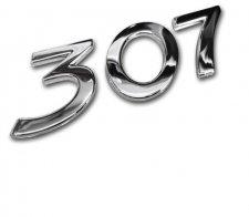 Monogramme de hayon 307