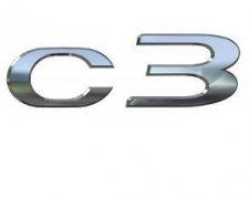 Monogramme de hayon c3