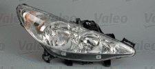 Phare droit / Ampoule H7 - H7 pour PEUGEOT 207 A PARTIR DE 03/2006