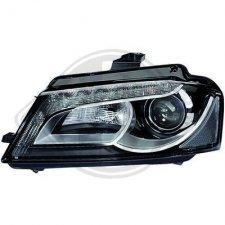 Phare gauche / Ampoule Xénon D3S / technologie LED pour AUDI A3 DE 05/2008 A 05/2012
