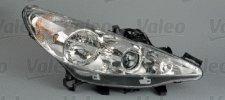 Phare droit / Ampoule H7 - H7 - H1 / Directionnel pour PEUGEOT 207 A PARTIR DE 03/2006