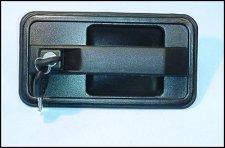 Poignee de porte avec cles avant droite laterale arriere