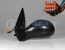 Rétroviseur droit / À peindre / Réglage électrique / Chauffant / Sonde température / Après 2003 pour PEUGEOT 206 DE 09/1