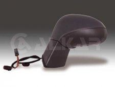 Rétroviseur gauche / À peindre / Réglage électrique / Chauffant / Rabattable électriquement / Avec feu clignotant pour P