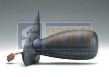 Rétroviseur droit / Noir / Réglage électrique / Chauffant pour PEUGEOT 306 (1) DE 02/1993 A 02/1997