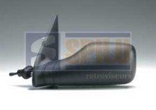 Rétroviseur gauche / Noir / Réglage manuel / avant 1993 pour PEUGEOT 106 (1) DE 09/1991 A 03/1996