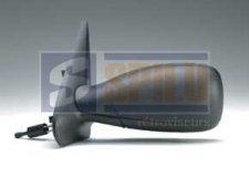 Rétroviseur droit / Noir / Réglage manuel pour PEUGEOT 306 (1) DE 02/1993 A 02/1997