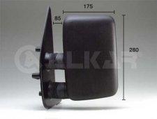 Rétroviseur droit / Noir / Réglage manuel / bras court / avant juin 1999 pour PEUGEOT BOXER (1) DE 02/1994 A 12/2001