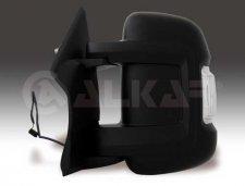 Rétroviseur droit / Noir / Réglage manuel / Avec feu clignotant pour PEUGEOT BOXER (2) DE 07/2006 A 05/2014