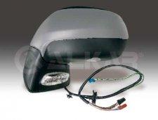 Rétroviseur droit / Réglage électrique / Chauffant / À peindre / Avec feu clignotant / éclairage au sol pour CITROEN C4